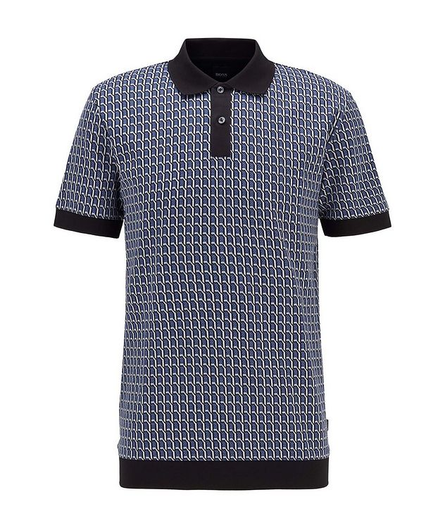 Textured Knit Polo picture 1
