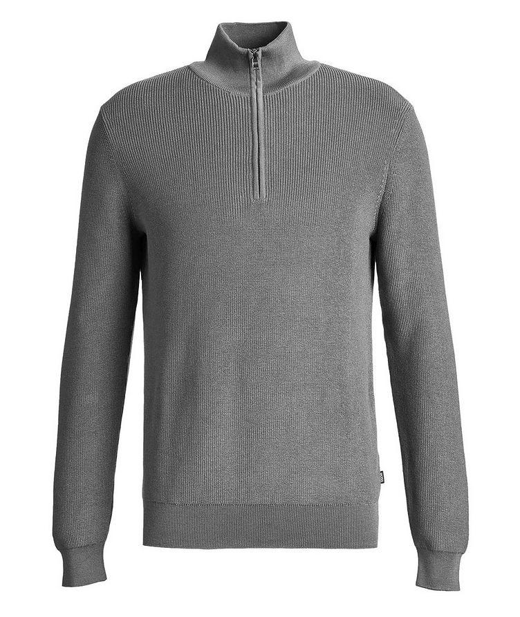 Half-Zip Knit Sweater image 0