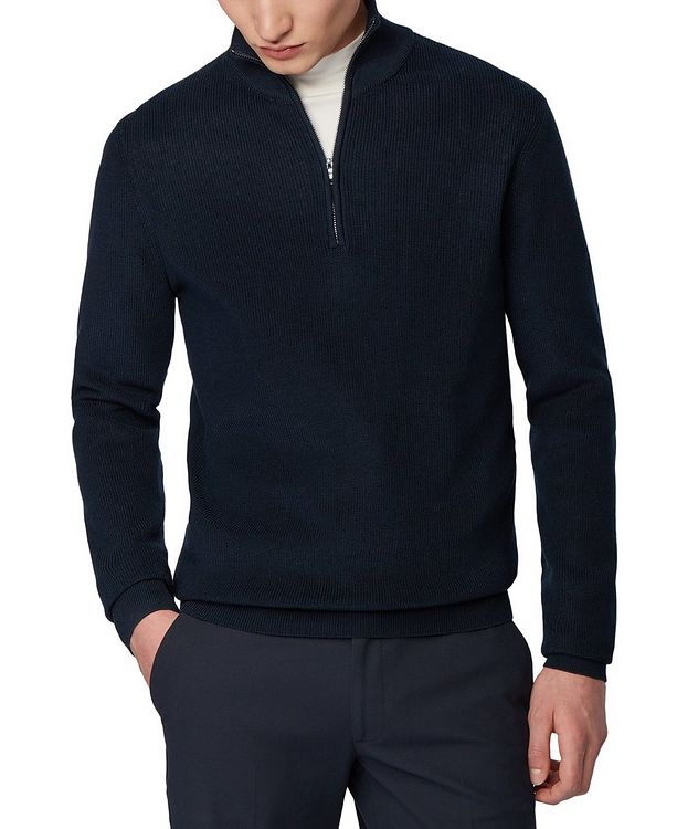 Half-Zip Knit Sweater picture 2