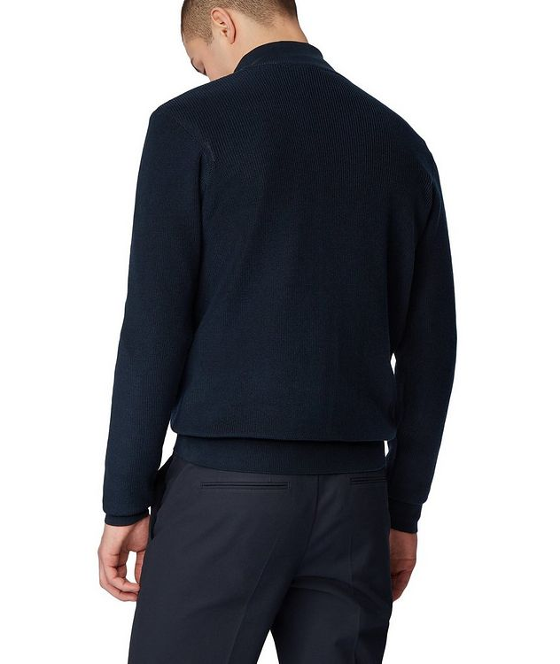 Half-Zip Knit Sweater picture 3