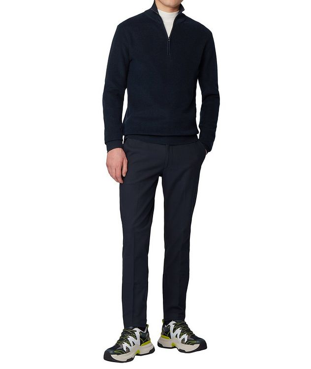Half-Zip Knit Sweater picture 4