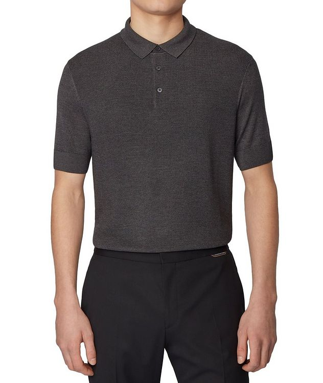 Knit Silk-Blend Polo picture 2