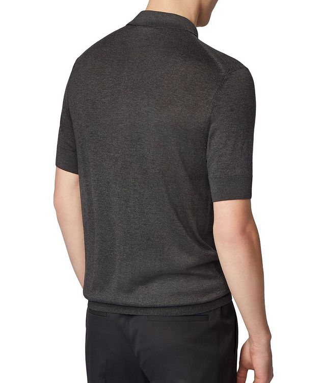 Knit Silk-Blend Polo picture 3