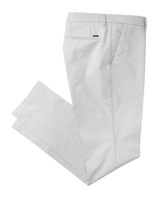 Slim Fit Stretch Trousers picture 1