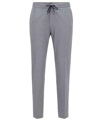 BOSS Banks4 Stretch-Jersey Dress Pants