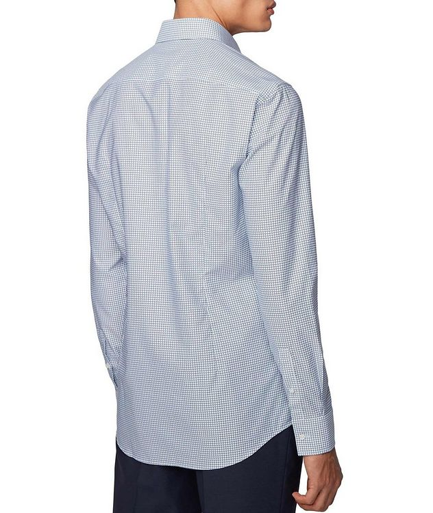 Slim Fit Dotted Dress Shirt picture 3
