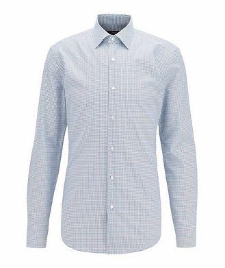 BOSS Slim Fit Dotted Dress Shirt