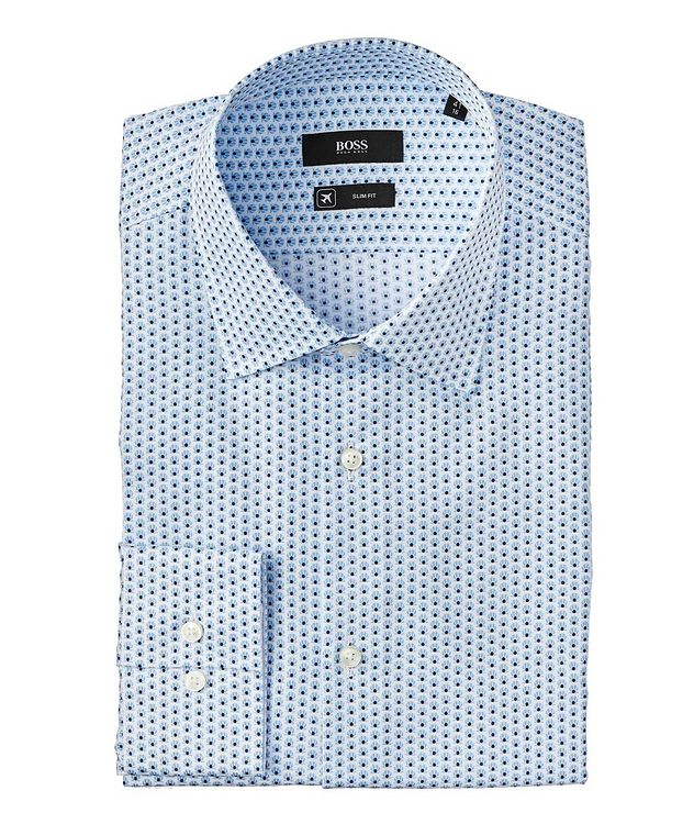 Slim Fit Travel Dress Shirt picture 1