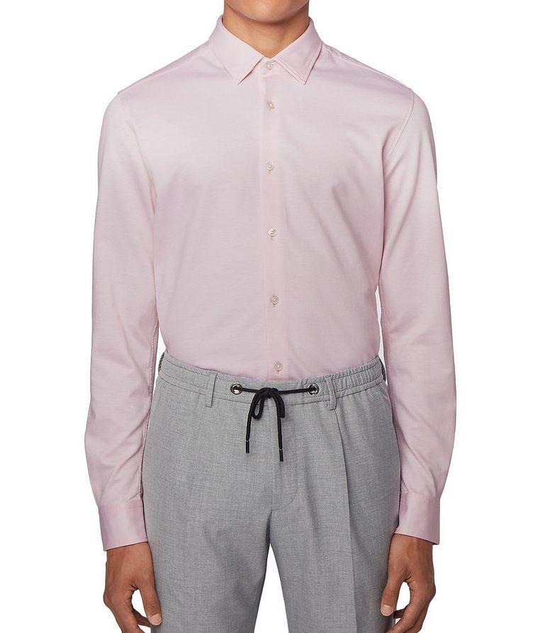 Slim Fit Cotton Piqué Shirt image 2
