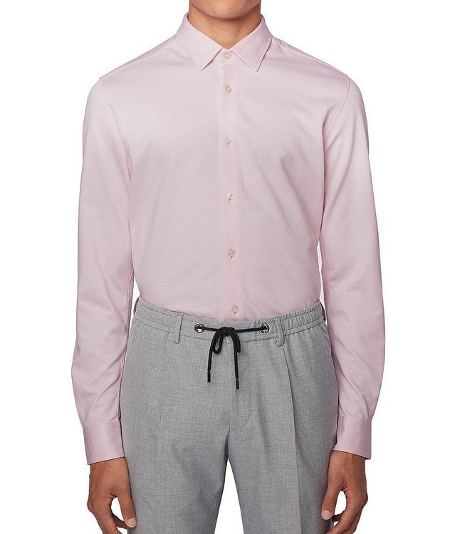 Slim Fit Cotton Piqué Shirt picture 3