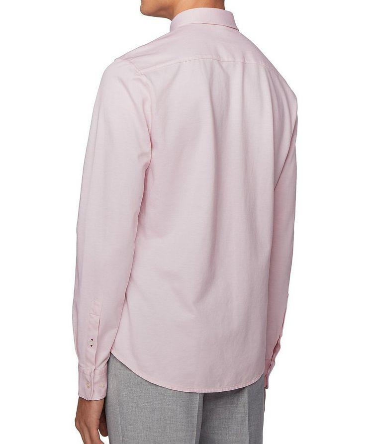 Slim Fit Cotton Piqué Shirt image 3