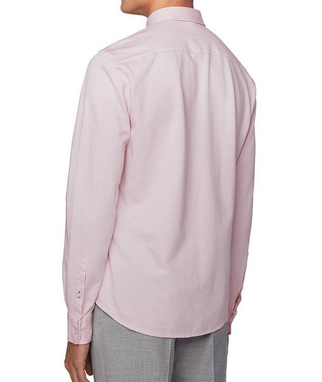Slim Fit Cotton Piqué Shirt picture 4