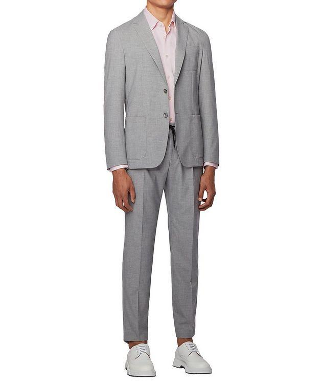Slim Fit Cotton Piqué Shirt picture 5
