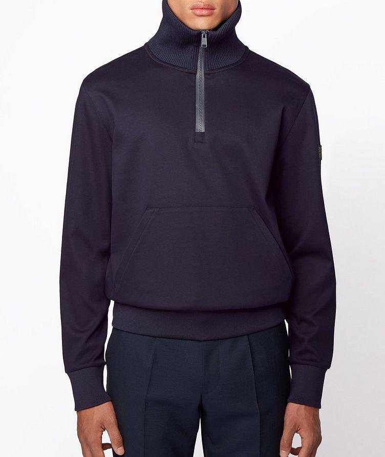 Half-Zip Troyer Sweater image 1