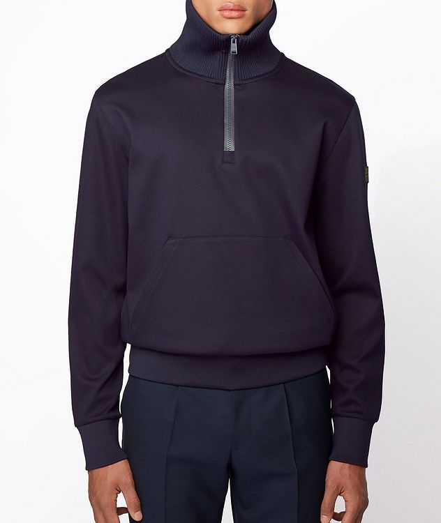 Half-Zip Troyer Sweater picture 2