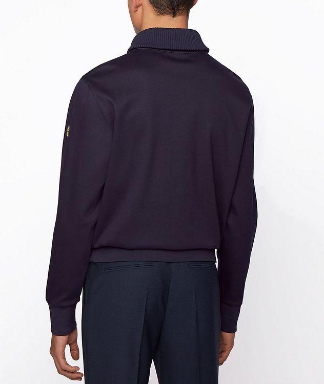 Half-Zip Troyer Sweater picture 3