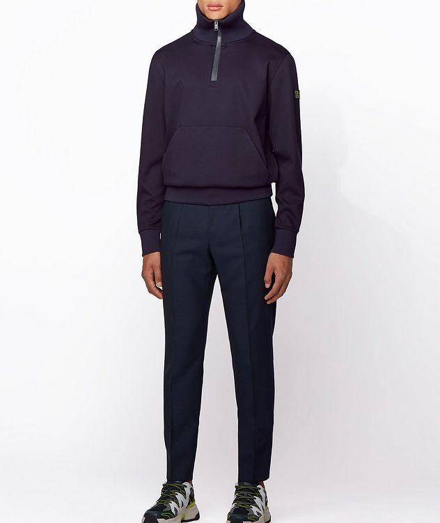 Half-Zip Troyer Sweater picture 4