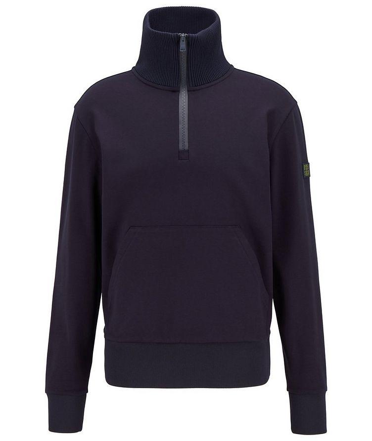 Half-Zip Troyer Sweater image 0