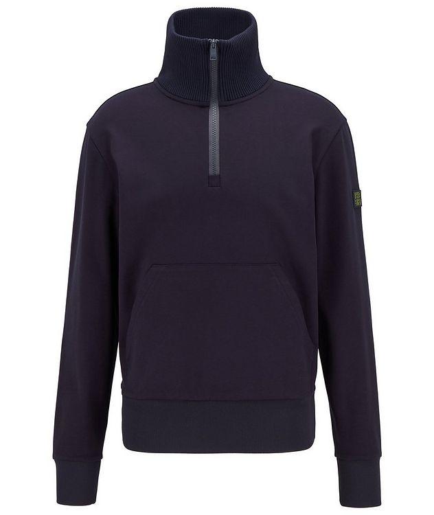 Half-Zip Troyer Sweater picture 1