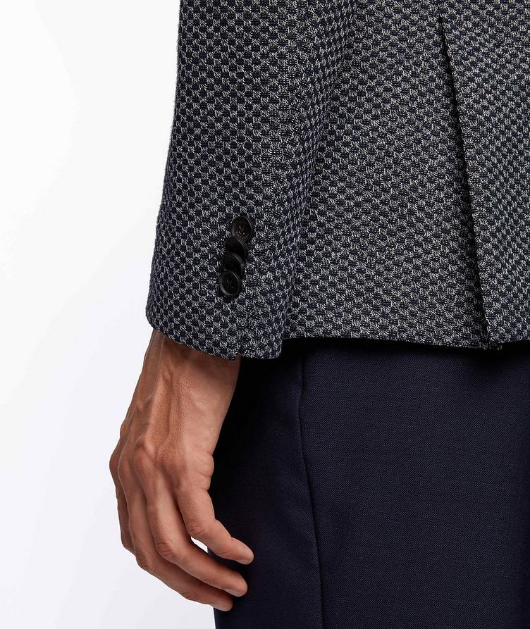 Norwin4 Checkered Cotton-Blend Sports Jacket image 3