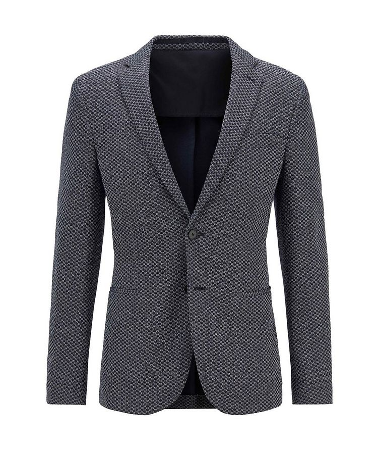 Norwin4 Checkered Cotton-Blend Sports Jacket image 0