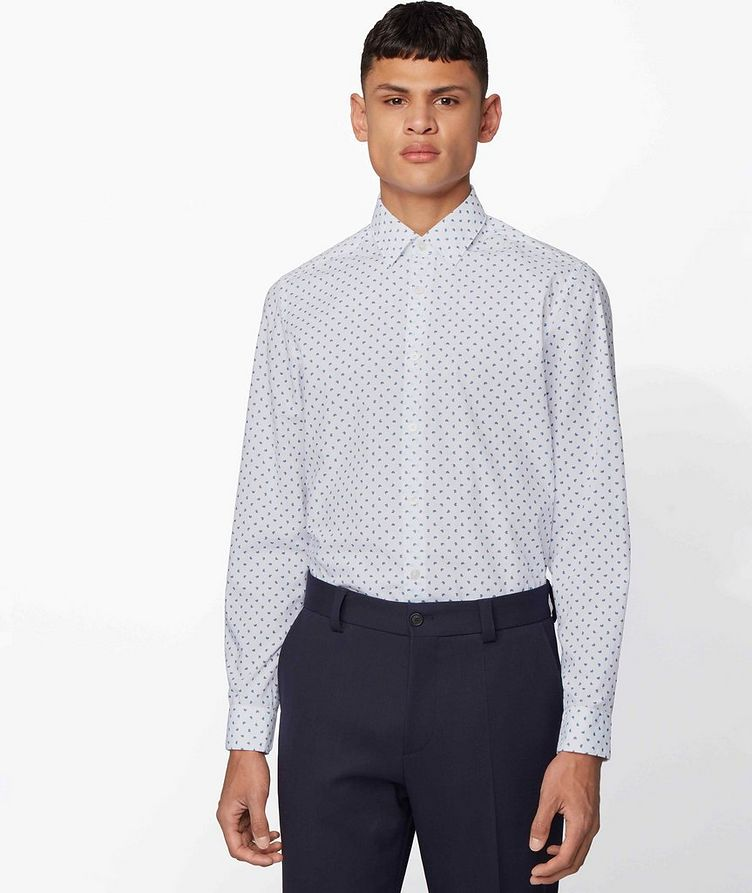 Lukas Contemporary Fit Printed Shirt image 2