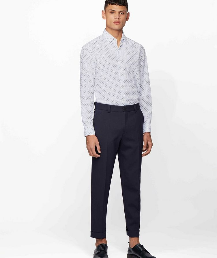 Lukas Contemporary Fit Printed Shirt image 4