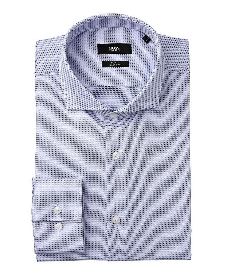 Slim Fit Easy-Iron Dress Shirt image 0