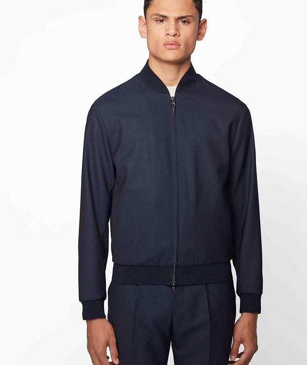 Nolwin Wool Bomber Jacket picture 2