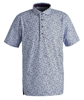 Greyson Printed Performance Polo