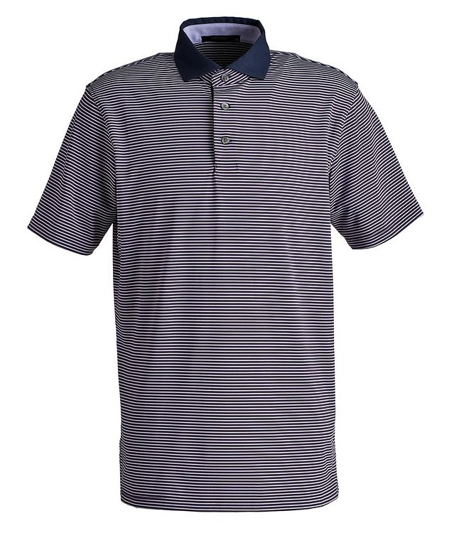 Striped Performance Polo picture 1
