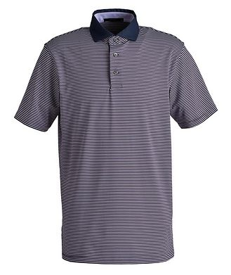 Greyson Striped Performance Polo