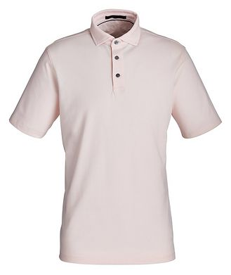 Greyson Piqué Stretch-Cotton Performance Polo