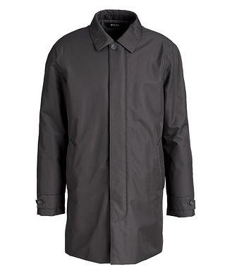 Z Zegna Microtene Water-Resistant Coat