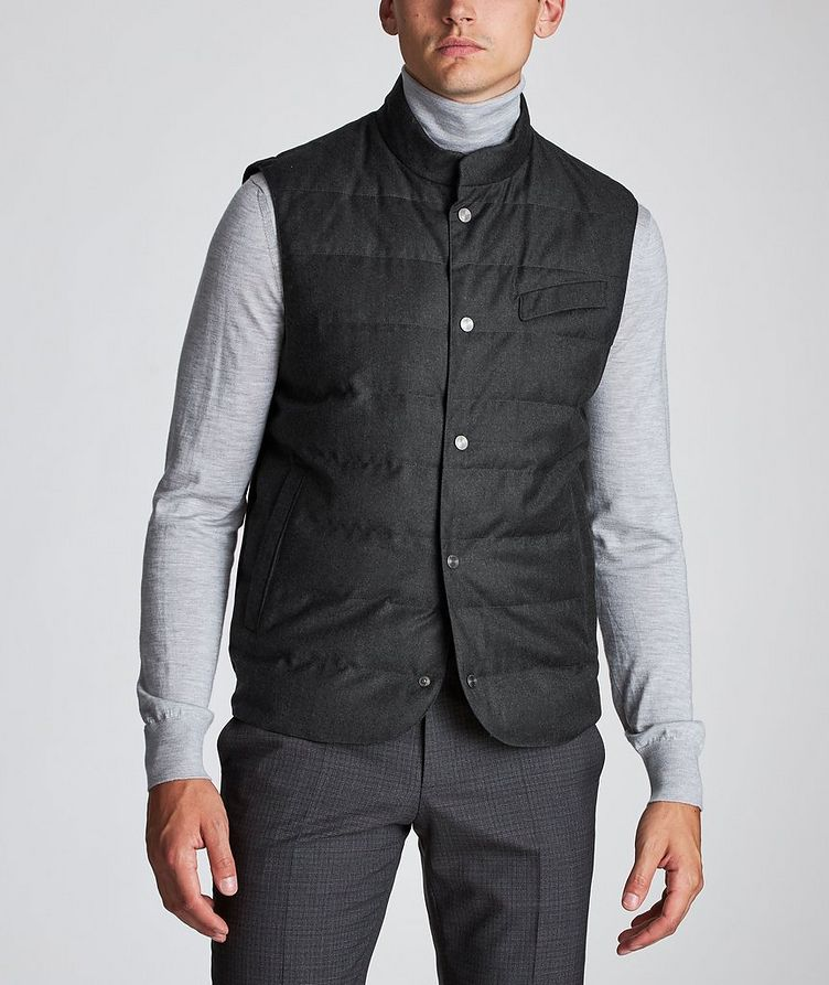 Feather-Free Down Vest image 1