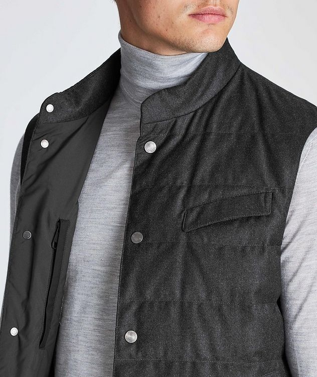 Feather-Free Down Vest picture 4