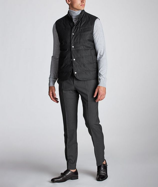Feather-Free Down Vest picture 6