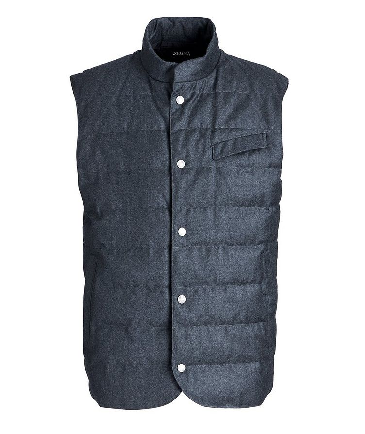 Feather-Free Down Vest image 0