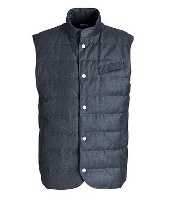 Z Zegna Feather-Free Down Vest