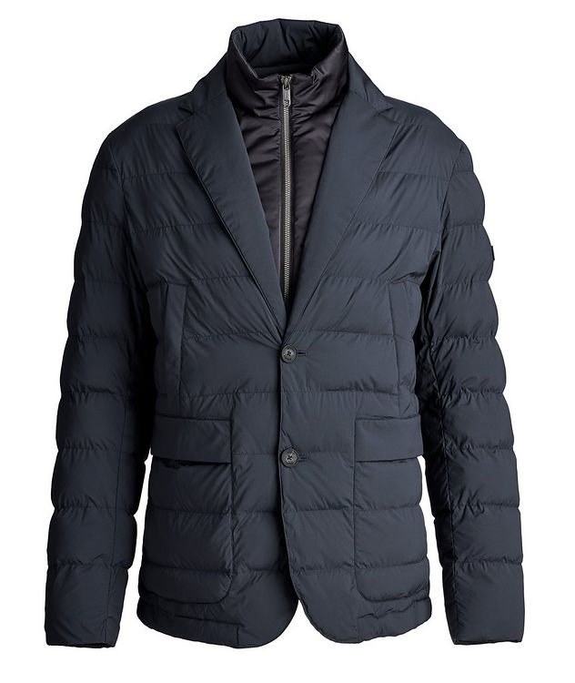Quilted Feather-Free Down Jacket picture 1