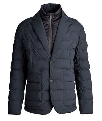 Z Zegna Quilted Feather-Free Down Jacket