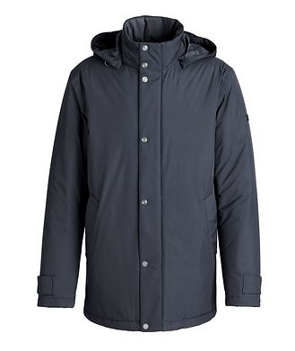 Z Zegna Microfiber 61 Water-Repellent Coat