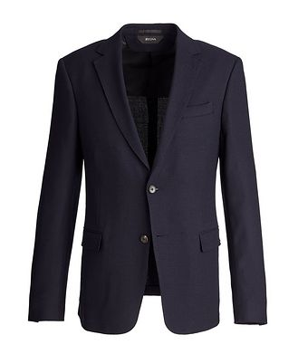 Z Zegna Drop 8 Deco Stretch-Wool Sports Jacket