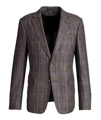 Z Zegna Drop 8 Deco Checked Sports Jacket
