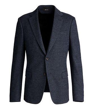 Z Zegna Drop 8 Deco Cotton-Wool Sports Jacket