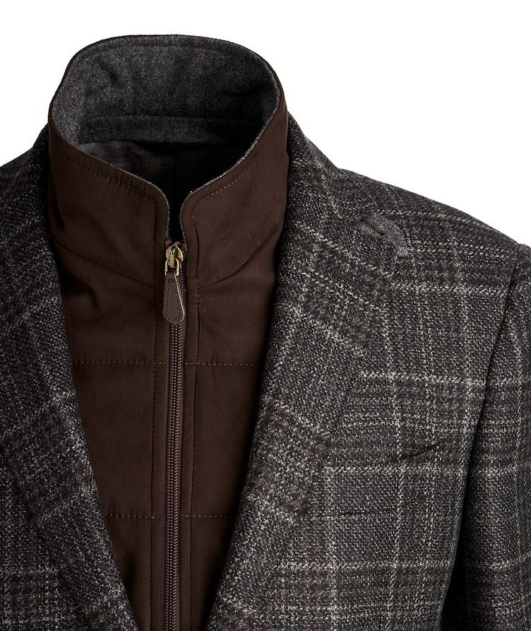 Checked Wool Sports Jacket image 2