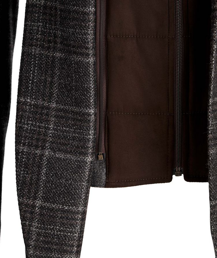 Checked Wool Sports Jacket image 3