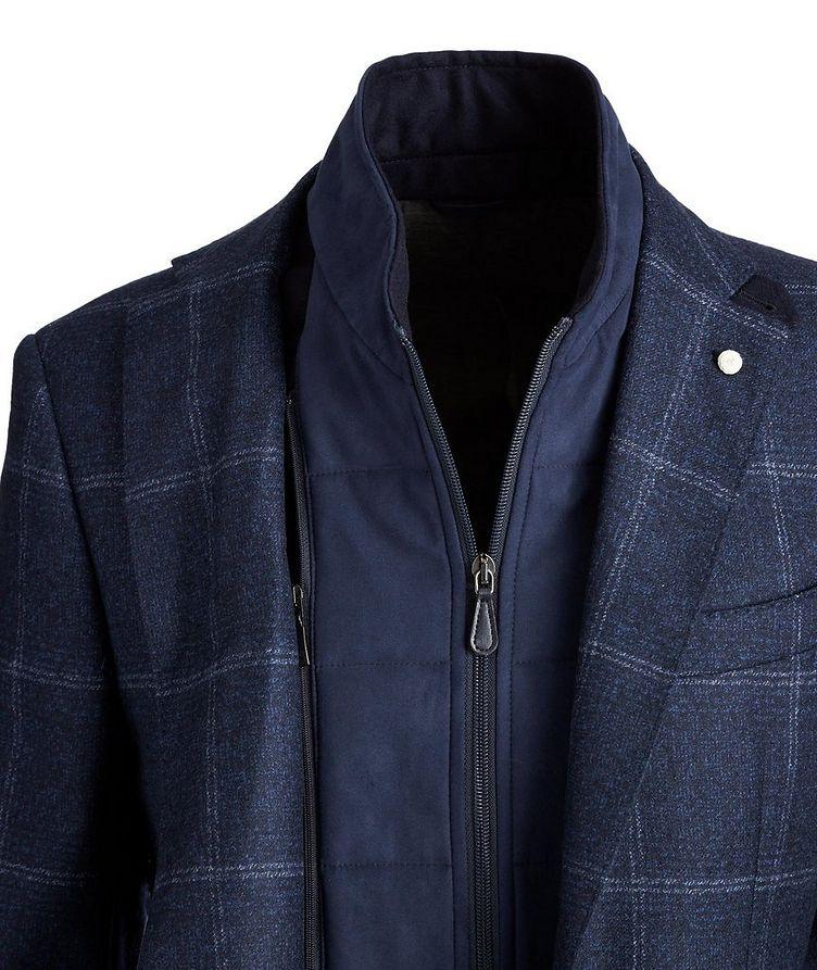 Windowpane Wool Sports Jacket image 1