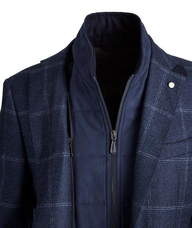 Windowpane Wool Sports Jacket picture 2