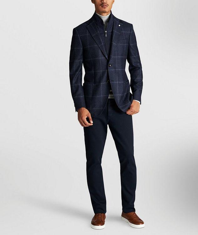 Windowpane Wool Sports Jacket picture 3